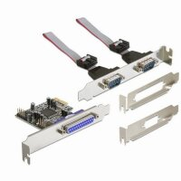 DeLOCK PCI Express card 2 x serial, 1x parallel...